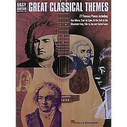 Hal Leonard Great Classical Themes for Easy Guitar Tab Book (702050)