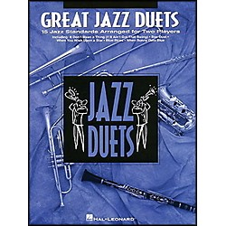 Hal Leonard Great Jazz Duets For Alto Sax (841018)
