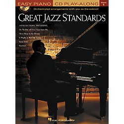 Hal Leonard Great Jazz Standards - Easy Piano CD Play-Along Volume 1 Book/CD (310916)