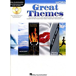 Hal Leonard Great Themes - Instrumental Play-Along Book/CD (842473)