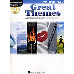 Hal Leonard Great Themes - Instrumental Play-Along Book/CD (842471)