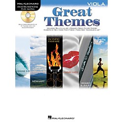 Hal Leonard Great Themes - Instrumental Play-Along Book/CD (842476)