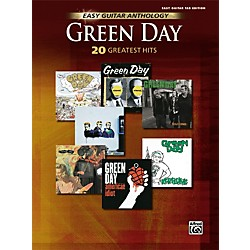 Hal Leonard Green Day Anthology Easy Guitar Tab Songbook (321981)