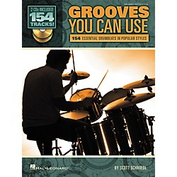 Hal Leonard Grooves You Can Use - 154 Essential Drumbeats in Popular Styles (Book/CD) (6620104)