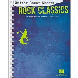 Hal Leonard Guitar Cheat Sheets - Rock Classics (702393)