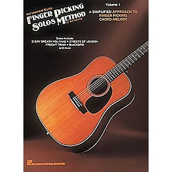 Hal Leonard Guitar Finger Picking Solos Method Volume 1 Book (699210)