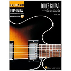 Hal Leonard Guitar Method - Blues Guitar Book/CD (697326)