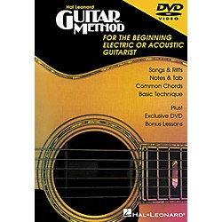Hal Leonard Guitar Method DVD (697318)