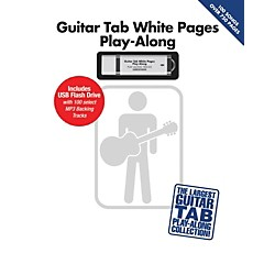 Hal Leonard Guitar Tab White Pages Play-Along Book/USB (121543)