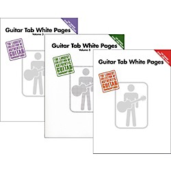 Hal Leonard Guitar Tab White Pages Vol. 1 - 3 (KIT-906499)