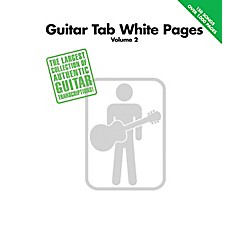 Hal Leonard Guitar Tab White Pages Volume 2 Songbook (699557)
