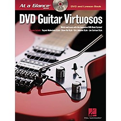 Hal Leonard Guitar Virtuosos - At A Glance Series (Book/DVD) (696435)