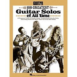 Hal Leonard Guitar World's 100 Greatest Guitar Solos Of All Time (702385)