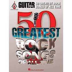 Hal Leonard Guitar World's 50 Greatest Rock Songs Of All Time Guitar Tab Songbook (691143)