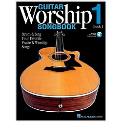 Hal Leonard Guitar Worship Songbook 1 Book/CD (699641)