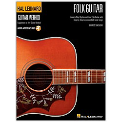 Hal Leonard Hal Leoanrd Folk Guitar Method - Learn to Play Rhythm and Lead Folk Guitar Book/CD (697414)