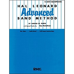 Hal Leonard Hal Leonard Advanced Band Method -E Flat Alto Saxophone (6605900)