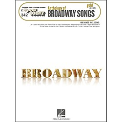 Hal Leonard Hal Leonard Anthology Of Broadway Songs Gold Edition E-Z Play 342 (100281)