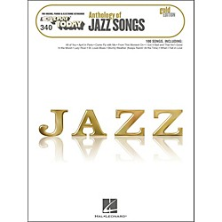Hal Leonard Hal Leonard Anthology Of Jazz Songs - Gold Edition E-Z Play 340 (100279)