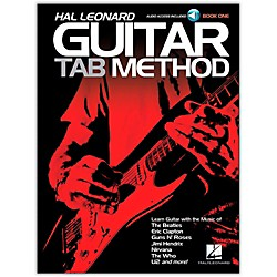 Hal Leonard Hal Leonard Guitar Tab Method Book 1 Book/CD (697411)