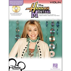 Hal Leonard Hannah Montana For Violin - Instrumental Play-Along CD/Pkg (842321)