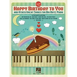 Hal Leonard Happy Birthday To You And Other Great Songs For Big-Note Piano (119636)