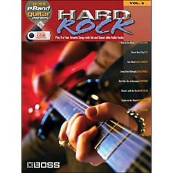 Hal Leonard Hard Rock Guitar Play-Along Volume 3 (Boss eBand Custom Book With USB Stick) (701639)