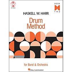 Hal Leonard Haskell W. Harr Drum Method Book 2 Book/CD For Band & Orchestra (6620103)
