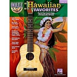 Hal Leonard Hawaiian Favorites Ukulele Play-Along Vol. 3 (Book/CD) (701453)