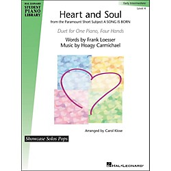 Hal Leonard Heart And Soul - Showcase Pops Level 4 Duet Hal Leonard Student Piano Library by Carol Klose (296699)