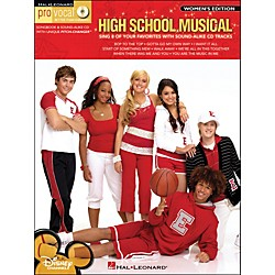 Hal Leonard High School Musical - Pro Vocal Songbook & CD For Female Singers (740428)