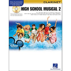 Hal Leonard High School Musical 2 For Clarinet Book/CD (842247)