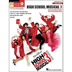 Hal Leonard High School Musical 3 - Pro Vocal Series Vol. 6 For Women/Men Songbook & CD (740414)