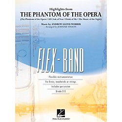 Hal Leonard Highlights From The Phantom Of The Opera - FlexBand Level 2 - 3 (4003748)