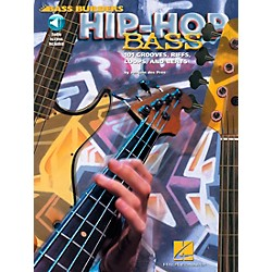 Hal Leonard Hip-Hop Bass - 101 Grooves, Riffs, Loops, and Beats Book/CD (695589)