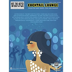 Hal Leonard Hit the Keys! Cocktail Lounge Piano/Vocal/Guitar Book (322408)
