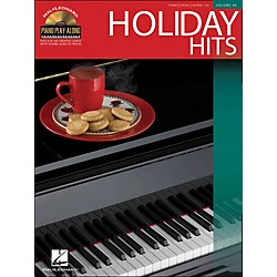 Hal Leonard Holiday Hits Volume 49 Book/CD Piano Play-Along arranged for piano, vocal, and guitar (P/V/G) (311333)