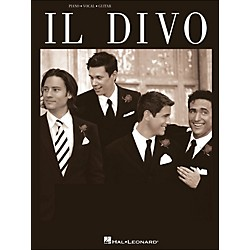 Hal Leonard Il Divo arranged for piano, vocal, and guitar (P/V/G) (306737)