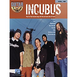 Hal Leonard Incubus Guitar Play-Along Vol. 40 Book with CD (699668)