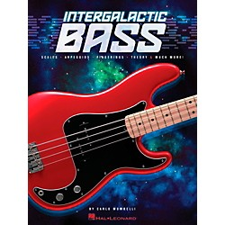 Hal Leonard Intergalactic Bass - Scales, Arpeggios, Fingerings, Theory & Much More! (109475)
