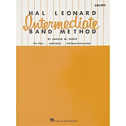 Hal Leonard Intermediate Band Method - Drums (6414100)