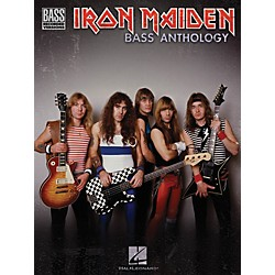 Hal Leonard Iron Maiden Bass Anthology (Tab Songbook) (690867)