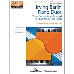 Hal Leonard Irving Berlin Piano Duos - Three Favorite Songs Arranged For 2 Pianos / 4 Hands (296838)