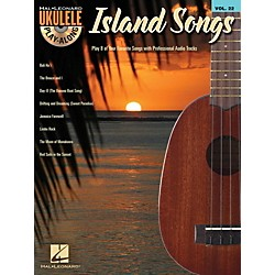 Hal Leonard Island Songs  Ukulele Play Along Volume 22 Book / CD (703098)