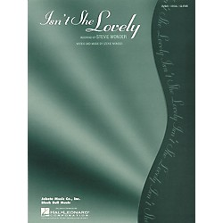 Hal Leonard Isn't She Lovely (351916)