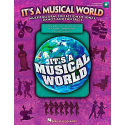 Hal Leonard It's a Musical World - Multicultural Collection of Songs, Dances and Fun Facts Book/CD (9971259)