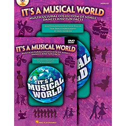 Hal Leonard It's a Musical World - Multicultural Collection of Songs, Dances and Fun Facts Classroom Kit (9971264)