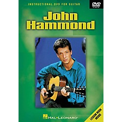 Hal Leonard JOHN HAMMOND - INSTRUCTIONAL GUITAR DVD (320722)
