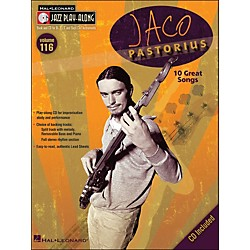 Hal Leonard Jaco Pastorius - Jazz Play-Along Volume 116 (CD/Pkg) (843165)
