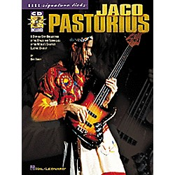 Hal Leonard Jaco Pastorius Bass Signature Licks Book with CD (695544)